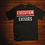 Thumbnail: Execution Over Excuses Unisex Graphic Tee (Black)