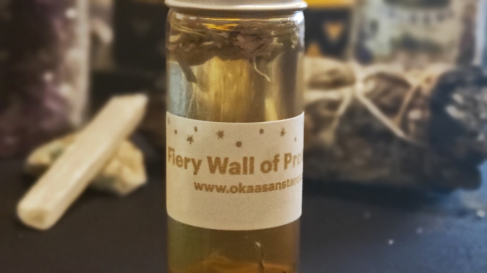 Fiery Wall of Protection Oil (.33oz)