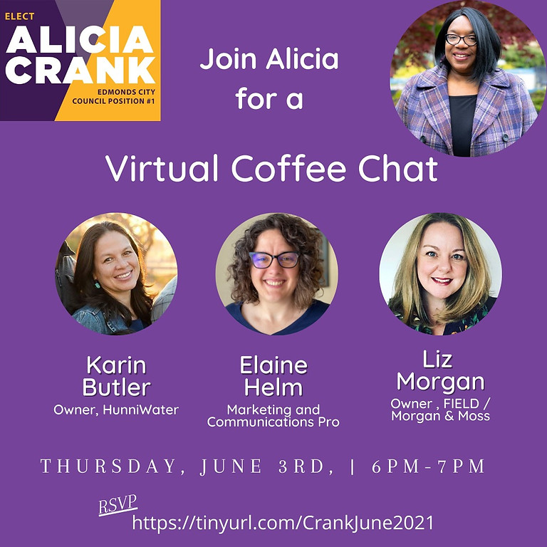 June Virtual Coffee Chat with Alicia