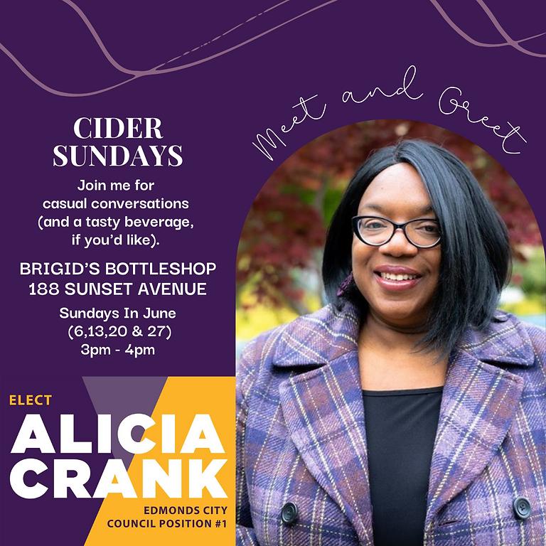Cider Sundays with Alicia