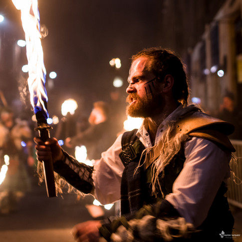 Torchlight Procession - Hogmanay 2018