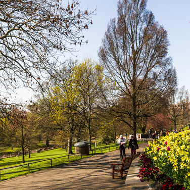 Princes Street Garden - April 2019 - Sig