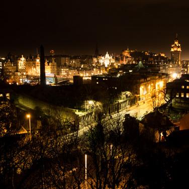 Old Town vue depuis Calton Hill
