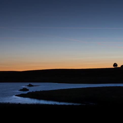 Crépuscule sur le Lac des Moines