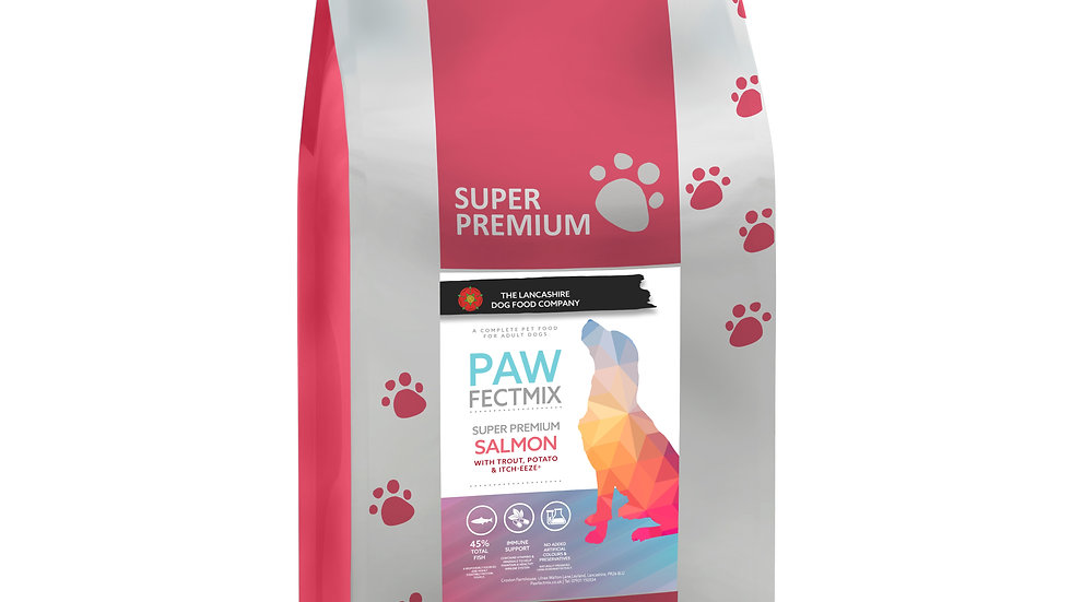 Salmon with Trout Potato & Itch-Eeze® - Adult Dog 15kg