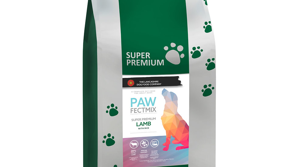 Lamb with Rice - Adult Dog 15kg