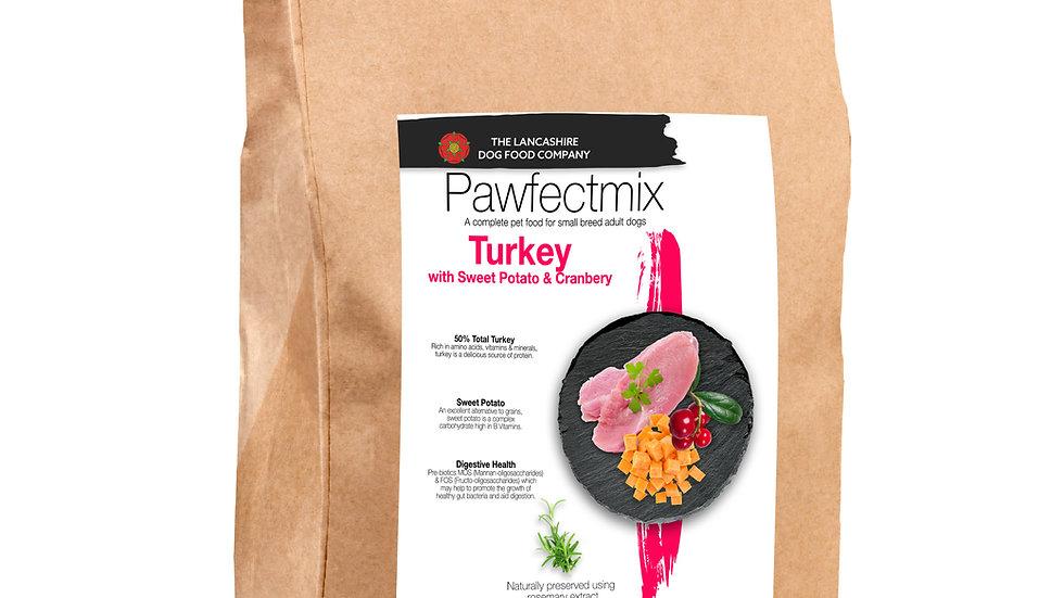 Turkey with Sweet Potato & Cranberry- Adult Dog - Large Breed 15kg
