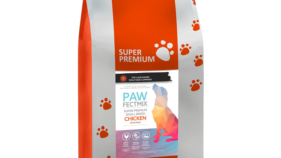 Chicken with Rice - Adult dog small breed 6kg