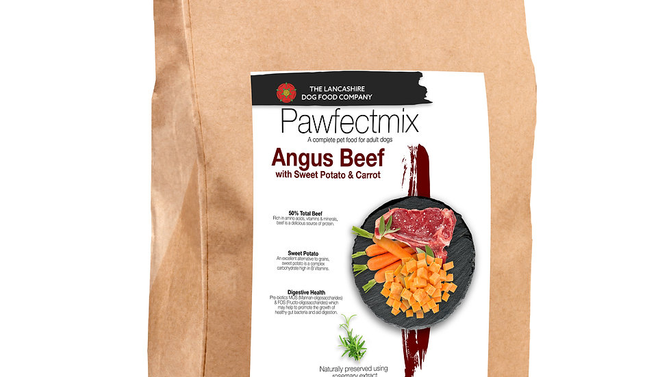 Angus Beef with Sweet Potato & Carrot - Adult Dog 15kg