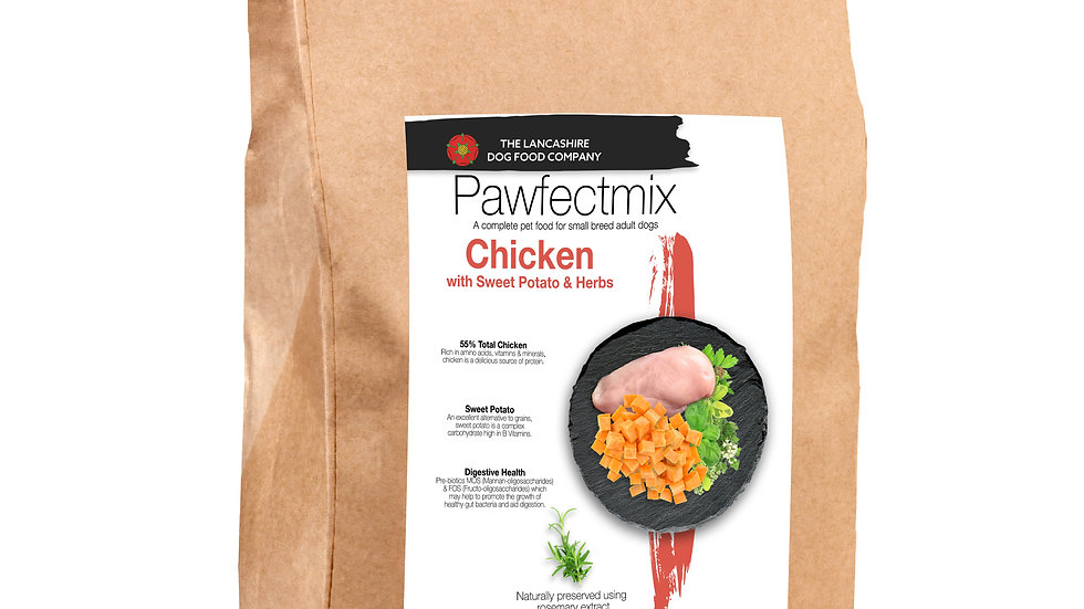 Chicken with Sweet Potato & Herbs - Adult Dog 15kg