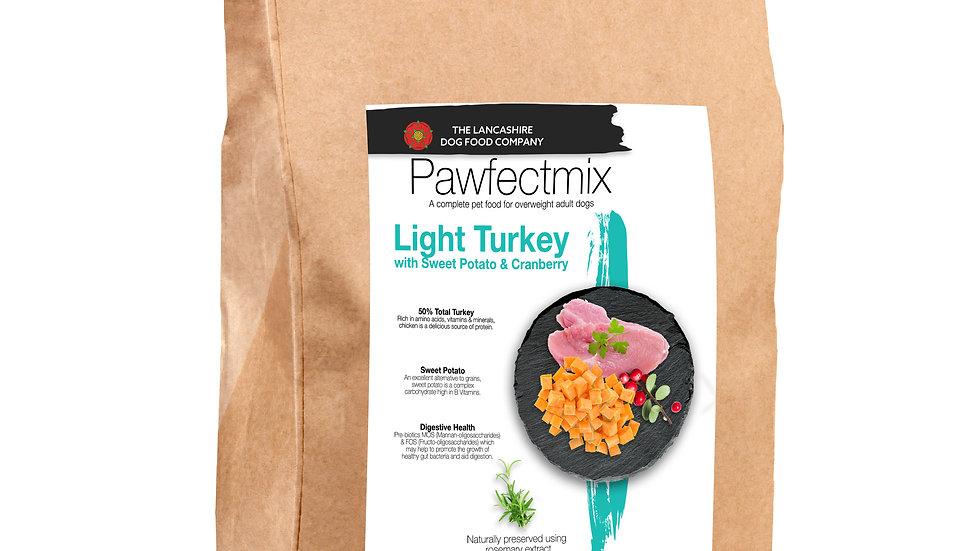 Turkey with Sweet Potato & Cranberry - Adult Dog - Light 15kg