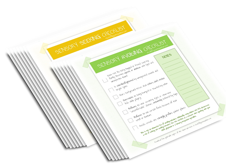 12 Printable SPD Resources