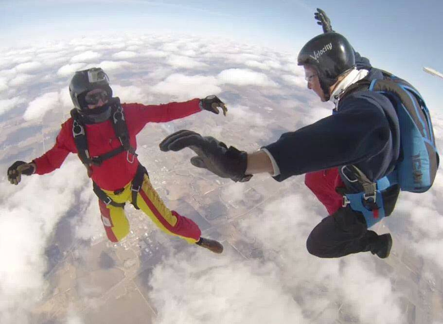 Crouching Skydiver, Hidden Dragon