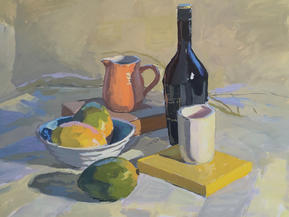 Still Life with Mangoes