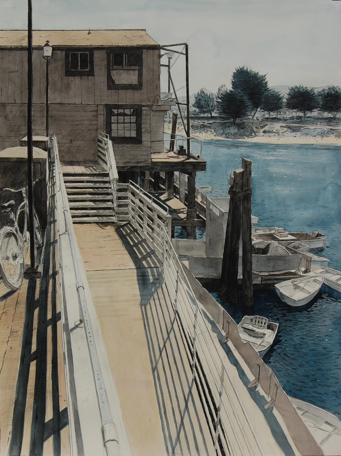 Monterey Wharf View