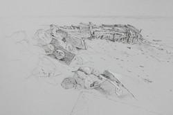 Bombay Beach Sketch