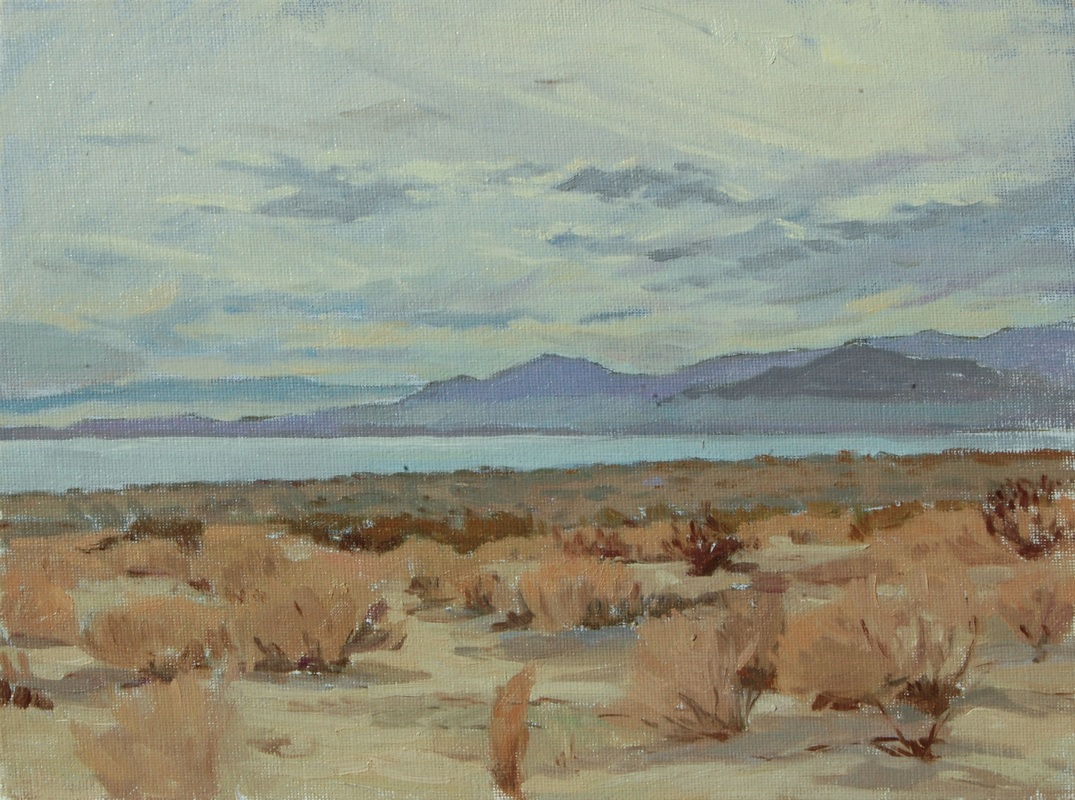 Cloudy Day - Salton Sea