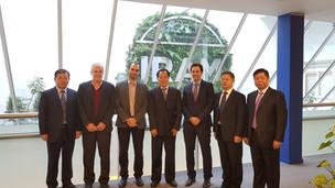 Reunión entre IRAM y la Administración reguladora del mercado de la Provincia de Hubei