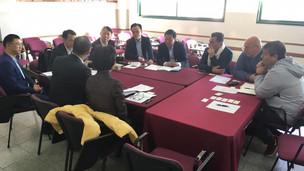 Funcionarios del distrito de Shapingba tuvieron reuniones con la Universidad Abierta Interamericana