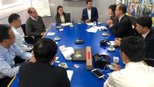 Una delegación del Distrito de Shapingba (Chongqing) visitó el Club Atlético Boca Juniors