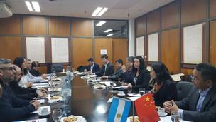 La Universidad del Sureste de China visitó la Facultad de Filosofía y Letras de la UBA