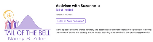 Activism with Suzanne - Tail of the Bell