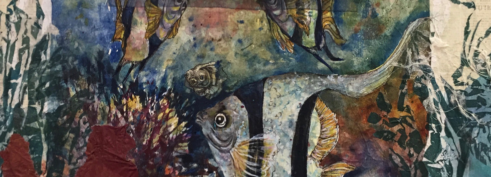 """""""Joy to The Fishes"""" by Margi Hafer"""