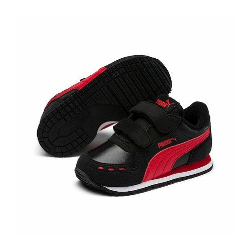 Puma Klett Sneaker Cabana Racer SL V Inf in schwarz/rot