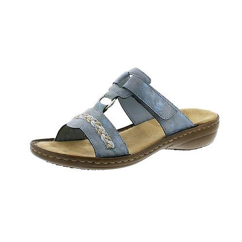 Rieker Damen Sandalette in heaven (blau)
