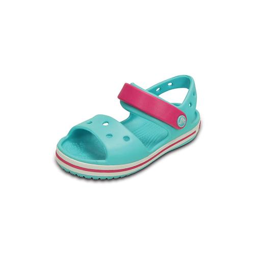 Crocs Kids' Crocband™ Sandal in Pool /Candy Pink /blau