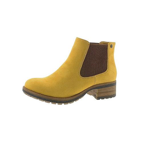 Rieker Damen Chelsea Boot mit Reißverschluss in Mais/Gelb