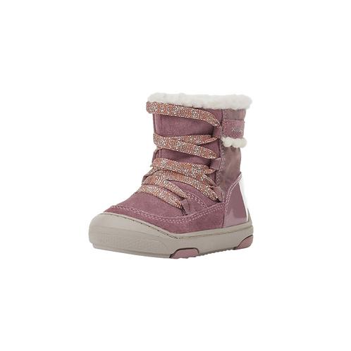 Geox Jayj Baby Lauflerner Pink Mädchen Stiefelette mit Reißverschluss