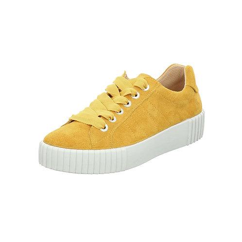 Romika Damen Sneaker Montreal S01 in gelb mit Wechselfußbett