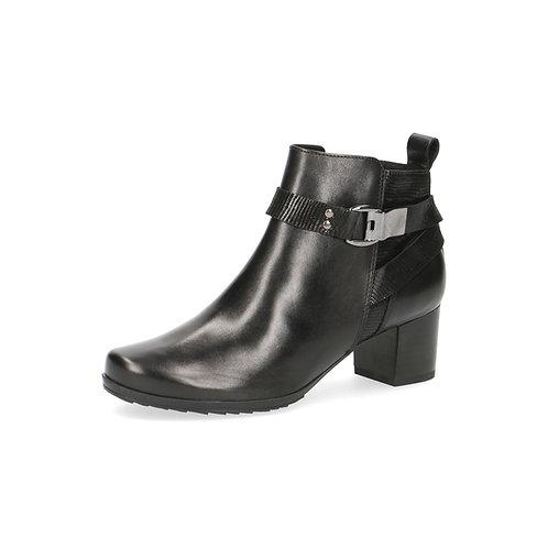 Caprice Stiefelette black comb. Luftpolsterinnensohle/ auswechs.Fußbett