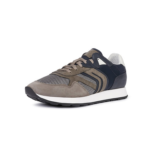 Geox Herrensneaker Diamano in Grau/Blau