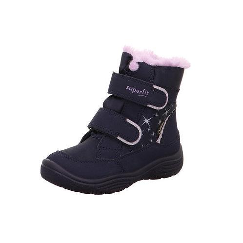 Superfit Stiefel Crystal blau/lila Gore-Tex® Wasserdicht