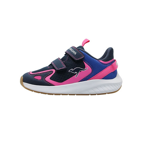 KangaROOS® K-Fort One V Sneaker blau dk navy/daisy pink