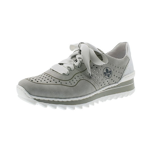 Rieker Damen Sneaker in cement/ice