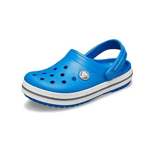 Crocs Kinder Crocband™ Clog in Blau (Bright Cobalt/Charcoal)