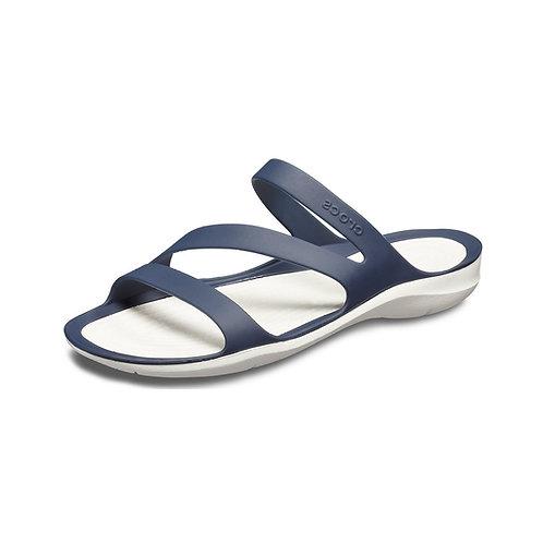 Crocs Women's Swiftwater™ Sandal in Navy/White (Blau/Weiß)