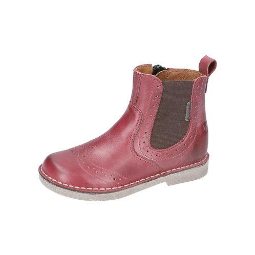Ricosta® Mädchen Chelsea-Boot DALLAS in Rot/Fuchsia