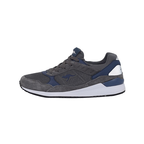 KangaROOS K-Moka Sneaker in Steel grey/Dark Navy (Grau/Blau)