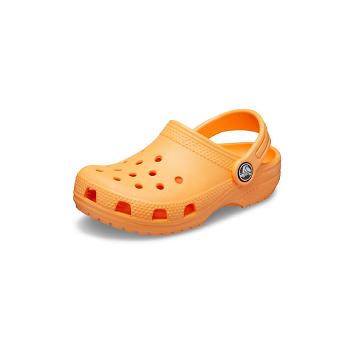 Crocs Classic Clog Kids Unisex in Cantaloupe/Orange