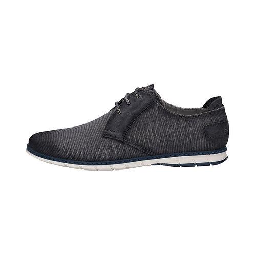 Bugatti Herren Sneaker  in dunkelgrau/schwarz