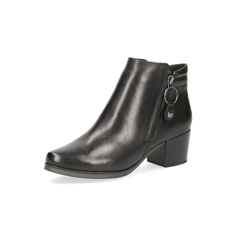 Caprice Caprice SchwarzSchuhelang Nappa Stiefelette Black PiukZXOT