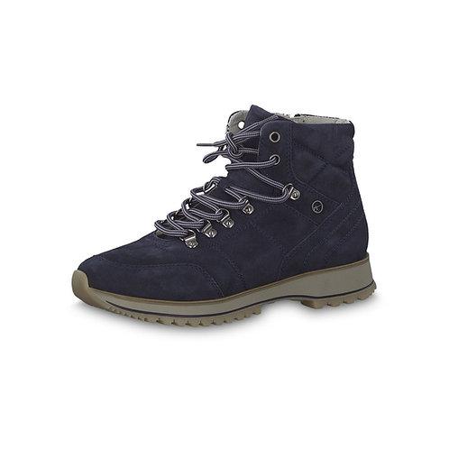 Tamaris Sneaker Halbhoch mit Reißverschluss in Navy