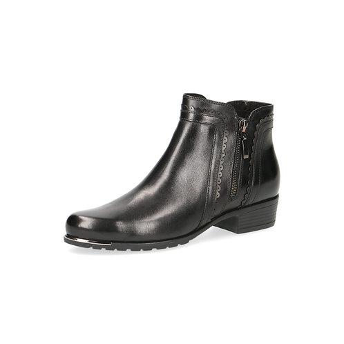 Caprice Stiefelette black nappa Luftpolsterinnensohle/ auswechs.Fußbett