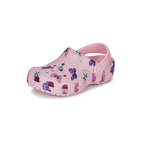 Crocs Classic Clog Kids Butterfly in pink