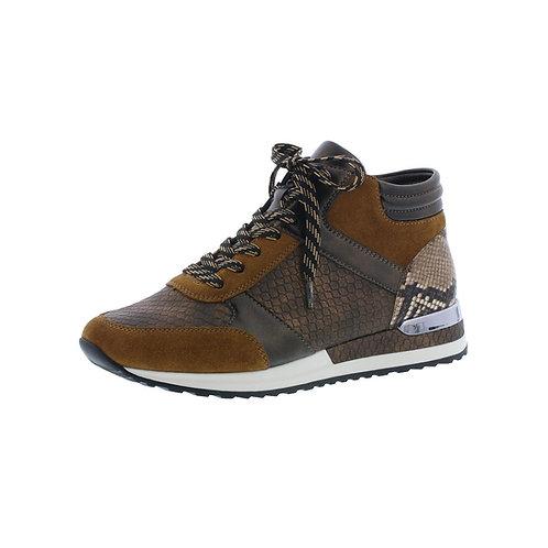 Rieker Damen Ancle Sneaker in cuoio/antik/brown Braun
