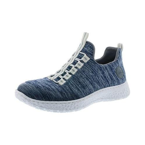 Rieker Damen Sneaker in clear/mare/adria